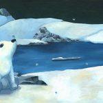 ours album jeunesse | Tiphaine Boilet illustrateur jeunesse nantais illustration ours polaire