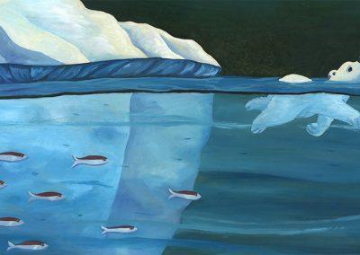 ours album jeunesse | Tiphaine Boilet illustratrice jeunesse nantaise illustration ours polaire