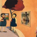 Paul Gauguin livre documentaire | Tiphaine Boilet illustratrice nantaise