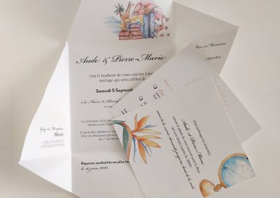 faire part mariage nantes | Tiphaine Boilet illustratrice nantaise freelance