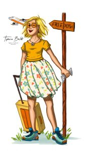 Illustration communication démarrer un projet | Tiphaine Boilet illustratrice france freelance