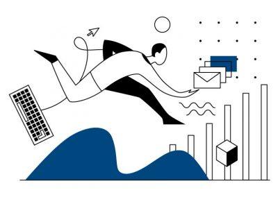 illustration communication entreprise, illustration vectorielle | Tiphaine Boilet illustratrice nantaise