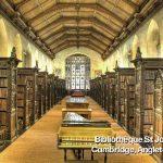 bibliotheque st john Cambridge Angleterre
