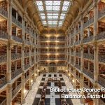 Bibliothèque George Peabody Baltimore états-Unis