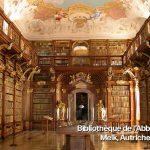 Bibliothèque de l'Abbaye de Melk Autriche