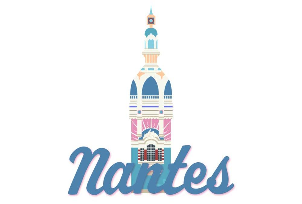 tour lu Nantes Lieu unique Illustration motion design Tiphaine Boilet illustrateur motion designer nantes