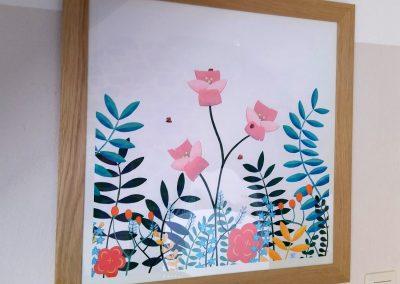 dessin chambre bébé fille cadeau personnalisé Tiphaine Boilet illustratrice jeunesse Nantes