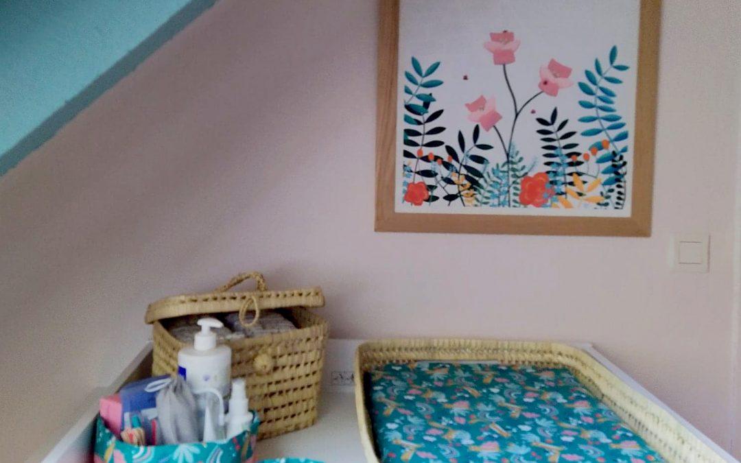 Idée décoration chambre bébé | Tiphaine Boilet illustratrice jeunesse