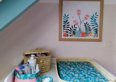 idée décoration chambre bébé Tiphaine Boilet illustratrice jeunesse Nantes
