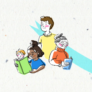 chaine du livre lecteur tiphaine boilet illustrateur freelance Nantes
