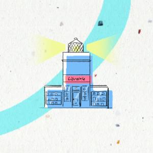 chaine du livre phare librairie libraire tiphaine boilet illustrateur freelance