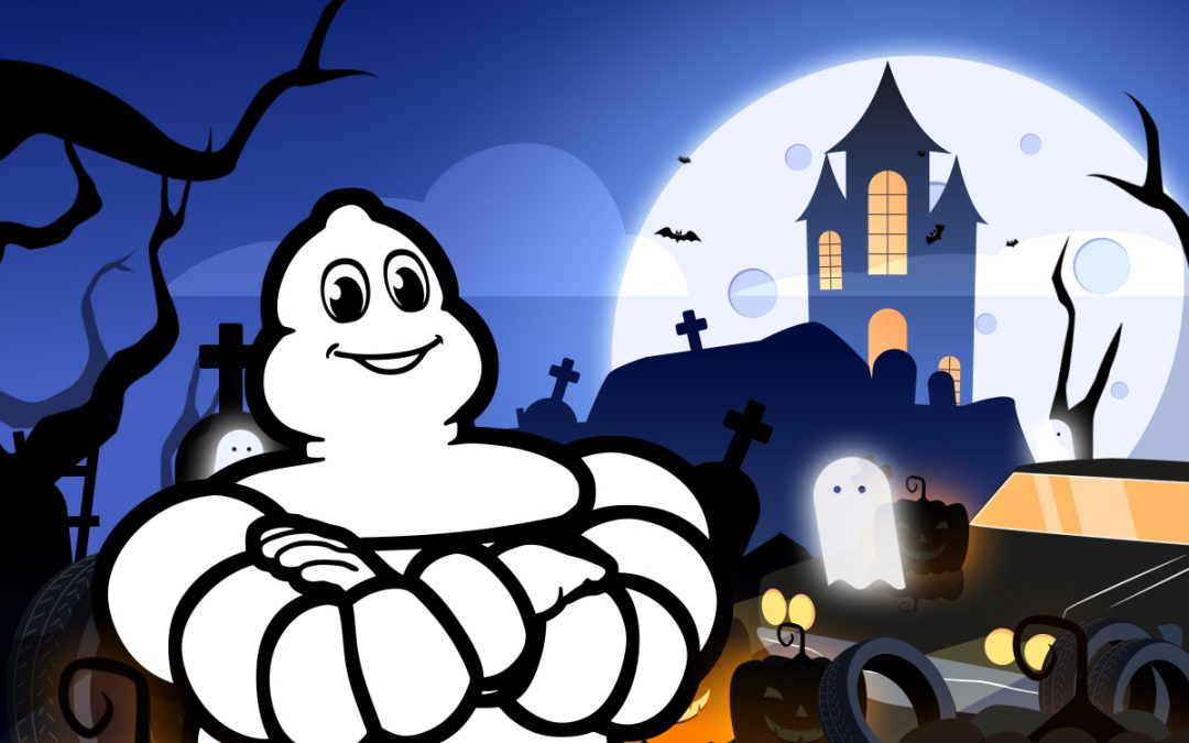 motion design animation 2D Michelin Halloween 2020 Tiphaine Boilet motion designer Nantes freelance