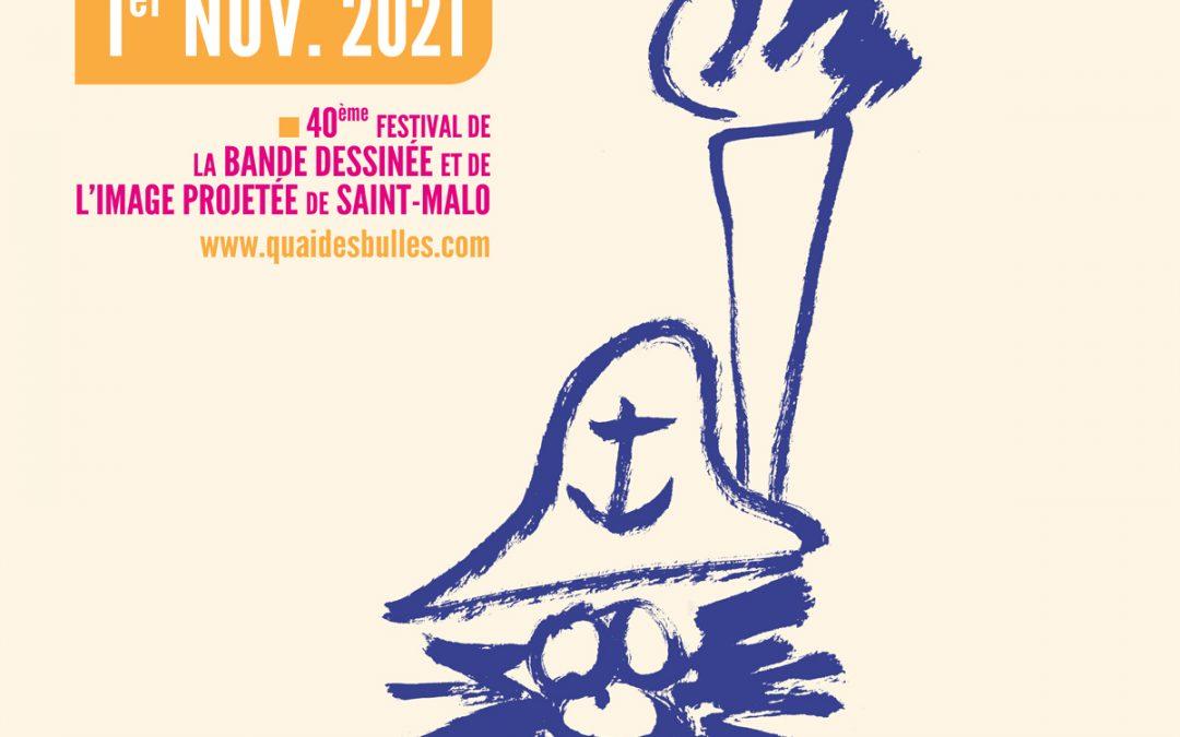 Dédicaces Quai des Bulles 2021 | Tiphaine Boilet illustrateur bd Nantes